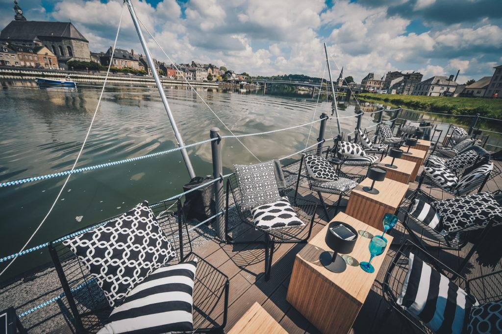 La Terrasse Givet restaurant flottant